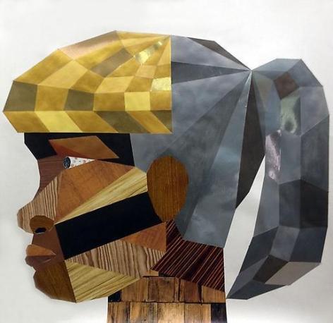 DERRICK ADAMS HEADS #14 (floor plan), 2012