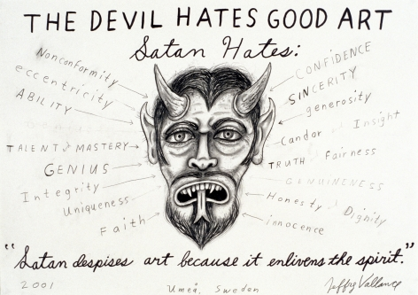 JEFFREY VALLANCE, The Devil Hates Art, 2001