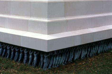 DO HO SUH, Public Figures, 1998 (detail)