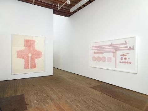 Drawings Installation view, 201 Chrystie Street, New York