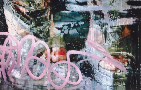 MARILYN MINTER, Not in These Shoes, 2013