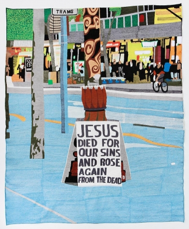 EKO NUGROHO The World Words series (Jesus Died for Our Sins and Rose Again from The Dead), 2012