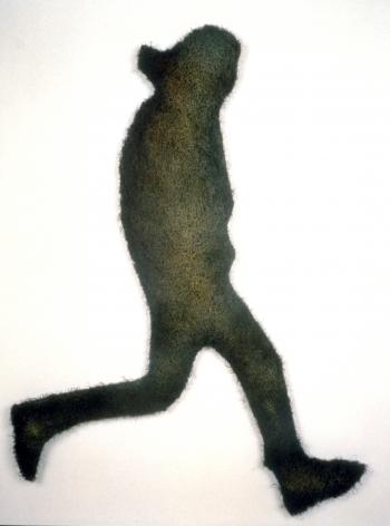 RICHARD ARTSCHWAGER, Running Man, 1998