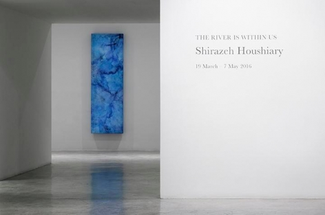 Shirazeh Houshiary,The River Is Within Us