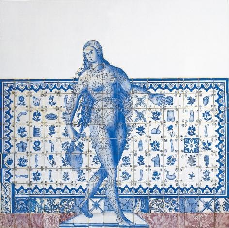 阿德里安娜·瓦萊喬 Entrance Figure II, 1998