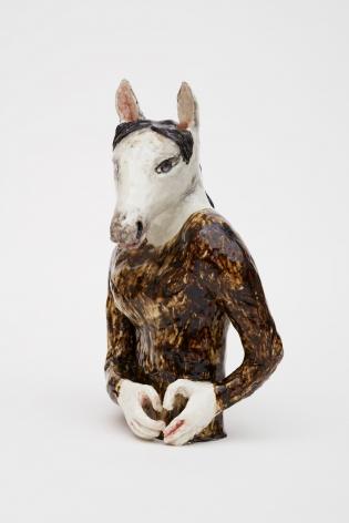 KLARA KRISTALOVA, Horse with a heart, 2019