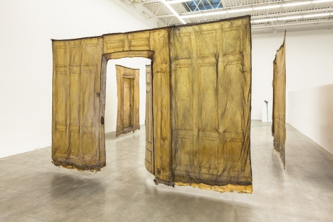 Heidi Bucher, Installation view, Swiss Institute Contemporary Art New York,2014