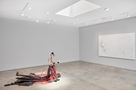 Nicholas Hlobo, Ulwamkelo installation view 6