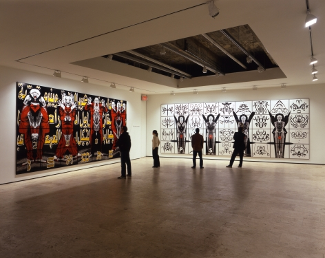 GILBERT & GEORGE Perversive Pictures Installation View 4.