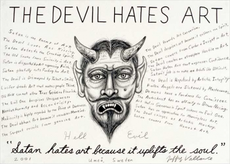 The Devil Hates Art, 2001