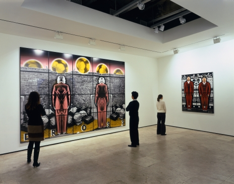 GILBERT & GEORGE Perversive Pictures Installation View 5.