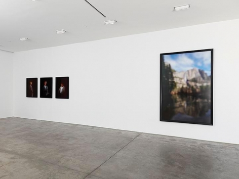 Catherine Opie, Portraits and Landscapes Installation view 2
