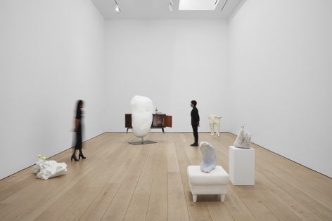[Installation view of Erwin Wurm's exhibition Yes Biological at Lehmann Maupin, New York, 2020, View