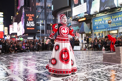 Arnold Shönberg's Erwartung — A Performance by Robin Rhode, A Performa Commission, Co-Presented with Times Square Arts