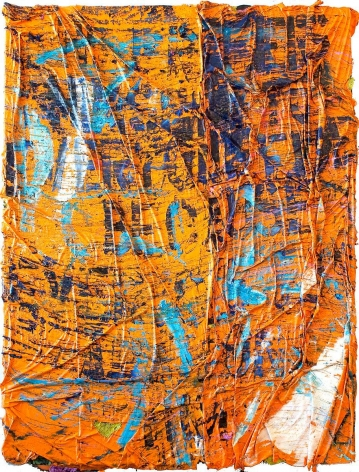 安吉爾·å¥§ç‰¹ç¾… He Prefers Himself to Everyone Else Because Everyone Else Abandons Him II (Orange and Blue), 2010