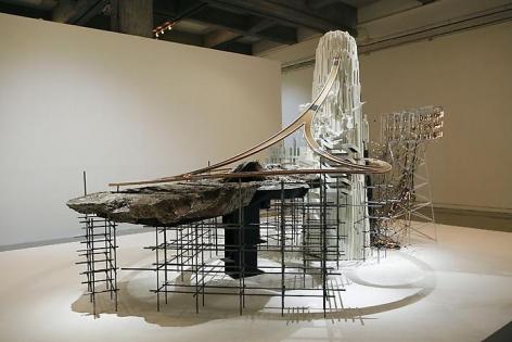 李昢 Mon grand récit: Weep into stones . . ., 2005