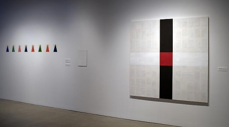 Installation view at The Warehouse Gallery at Syracuse University, 2008