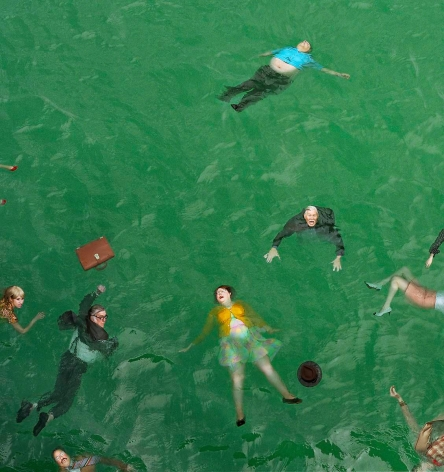 ALEX PRAGER 3:14pm, Pacific Ocean, 2012