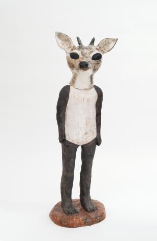 """克拉拉·å…‹èŽ‰æ–¯å¡""""洛娃 Deer, 2011"""