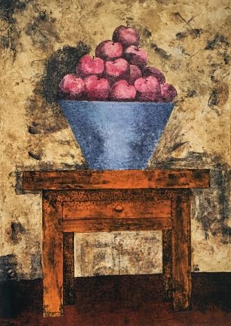 Rufino Tamayo Frutero con manzanas