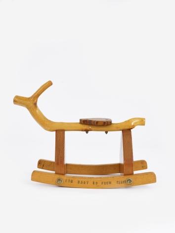 H.C. Westermann Frenchy's Rocking Horse plus Artist's Box, 1969