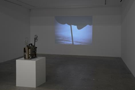 Installation view of Jack Goldstein, New York, Venus Over Manhattan, 2017