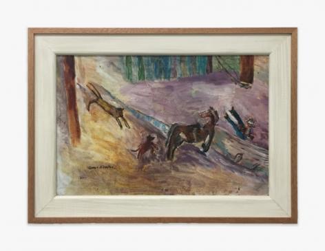 Gladys Johnston Cougar Attack, 1981