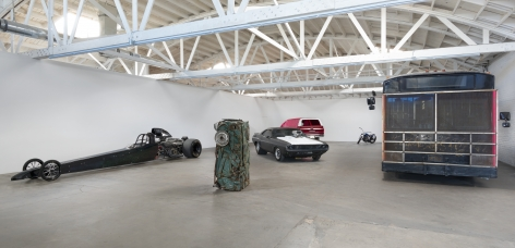 Installation view of Piston Head II, Los Angeles, Venus Over Los Angeles, 2016