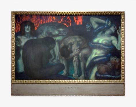 Franz Von Stuck Inferno