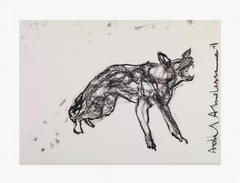 Adel Abdessemed German Shepherd, 2015