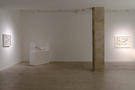 Installation view of Öyvind Fahlström, Venus Over Manhattan, New York © 2019 Sharon Avery-Fahlström / Artists Rights Society (ARS), New York