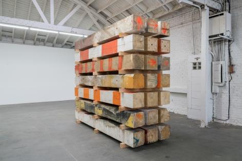 Marianne Vitale Beam Work (Stack 6), 2016