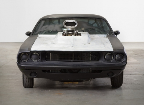 "RICHARD PRINCE, ""THE ODYSSEY,"" 2016. 1970 CHALLENGER AND ACRYLIC PAINT."