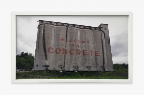 Center For Land Use Interpretation Concrete, Washington, 1999