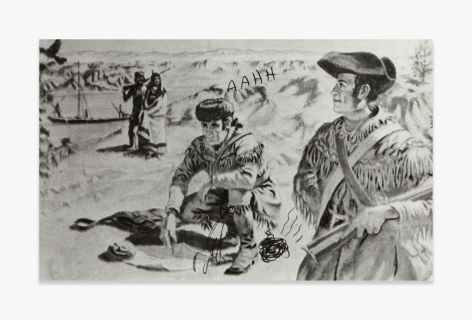 Mike Kelley   Lewis and Clark (from the Reconstructed History Series)