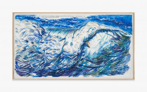 Raymond Pettibon No Title (The lower half…)