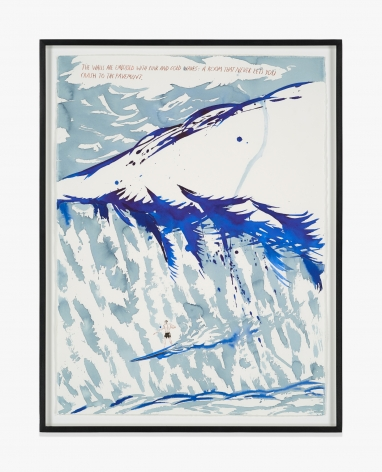 Raymond Pettibon No Title (The walls are…)