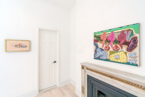 "Installation view of ""The Interior,"" Venus Over Manhattan, New York, 2021."
