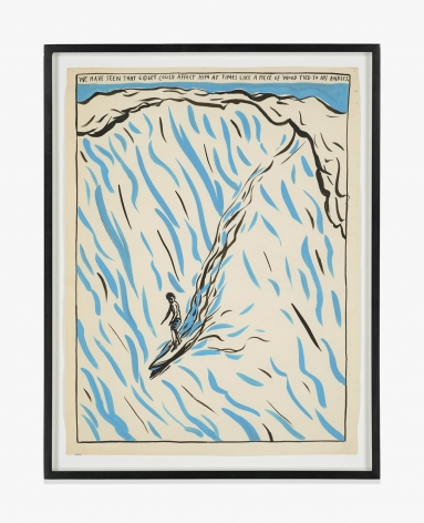 Raymond Pettibon No Title (We have seen…)