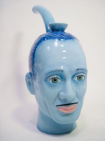 John De Fazio John Waters Bong (Blue), 2012