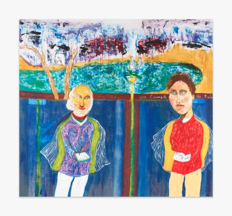 David Medalla Walt Whitman and Arthur Rimbaud, 2015