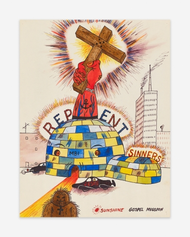 H.C. Westermann,Repent(n.d.). Courtesy of Venus Over Manhattan.