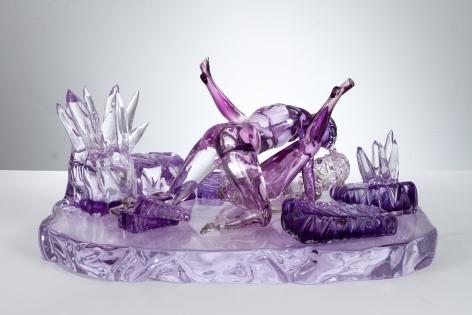 Jeff Koons Violet-Ice (Kama Sutra)