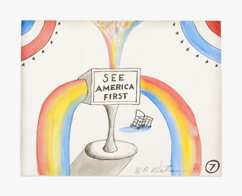 H.C. Westermann See America First (Untitled #7), 1968
