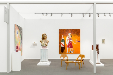 Installation image of Frumkin's Funk, Frieze Masters, London, 2018