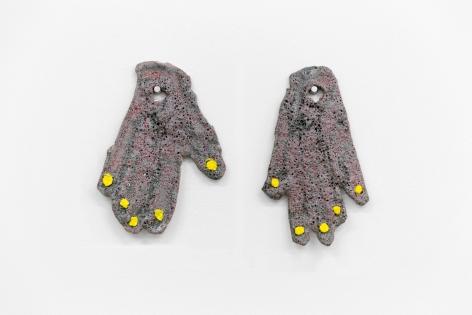 Polly Apfelbaum My Hands, 2018