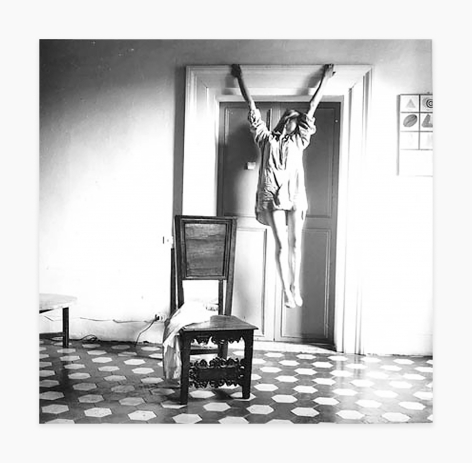 Francesca Woodman I. 135, Untitled, Rome, Italy