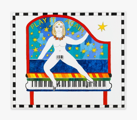 Dorothy Iannone Play It Again, 2007