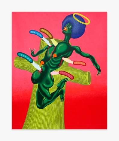 Peter Saul Crucifixion of Angela Davis