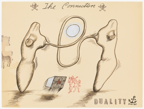 H.C. Westermann The Connection - Duality, 1964